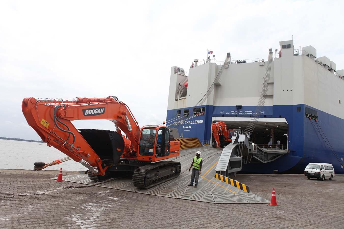 Roro terminal | Port Autonome d'Abidjan